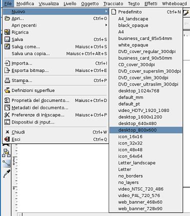 Guida inkscape, inkscape tutorial, web2, header, svg 2