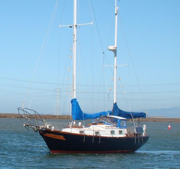 SV Isabella Far East Yachts Mariner 31 Ketch