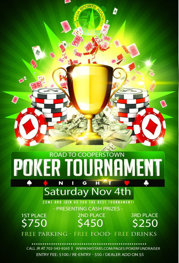 Poker Tournament Fundraiser Nevada Sports Academy Stars