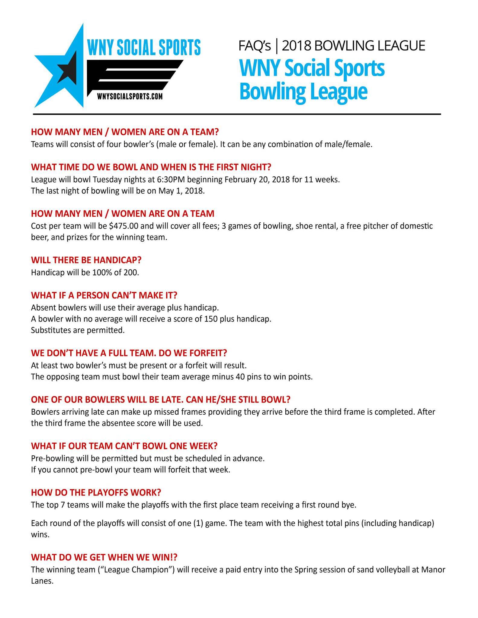Frames Bowling League | Framess.co