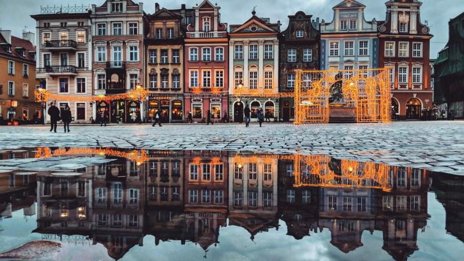 Market Square in Poznan