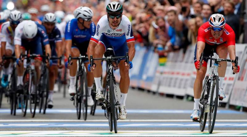 Петер Саган завоевал шестую зеленую майку «Тур де Франс»
