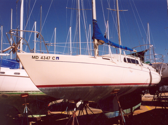 Port bow and side