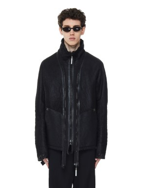 Isaac Sellam Les Deux Leather Coat