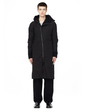 Leon Emanuel Blanck Deconstructed cotton zip coat