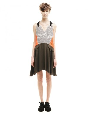 Damir Doma Cotton and Polyester Dress