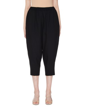 Comme des Garcons CdG Wide-Leg Cropped Trousers
