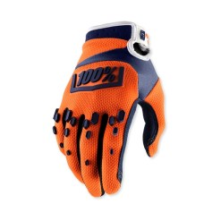 100% Airmatic Orange-Navy