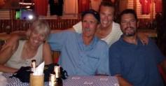 Emily, Tom ,Mary & Peter rockin' night at Philos