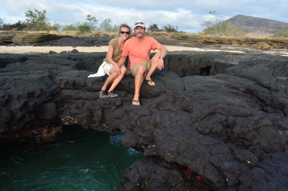 Mary and Peter lava rock