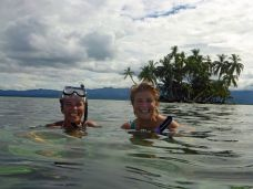 Snorkeling with Rose