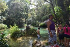 Parque El Nicho and lovely hike capped off with a dip in COLD fresh water