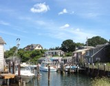 Picture perfect fishing town of Menemsha