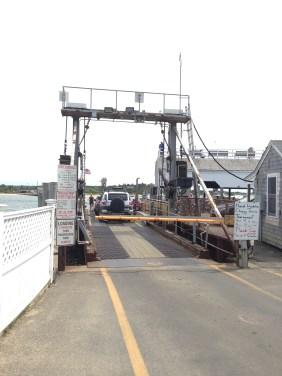 Old Chappy, ferry across to Chappaquiddick