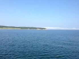 Quiet anchorage in Montauk