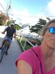 Bike selfie