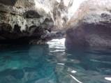 Entering Thunderball Cave