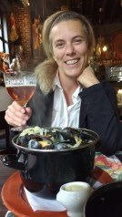 Mussels and beer in Belgium what more do you need.