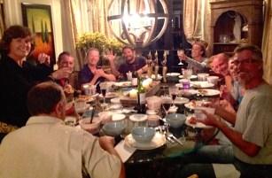 Guatemala feast of Chinese food