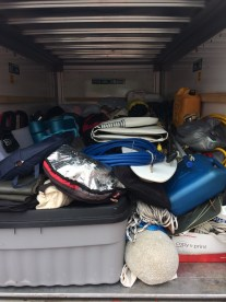 How was all this in the boat?