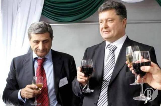 Тариэл Васадзе вместе с Петром Порошенко