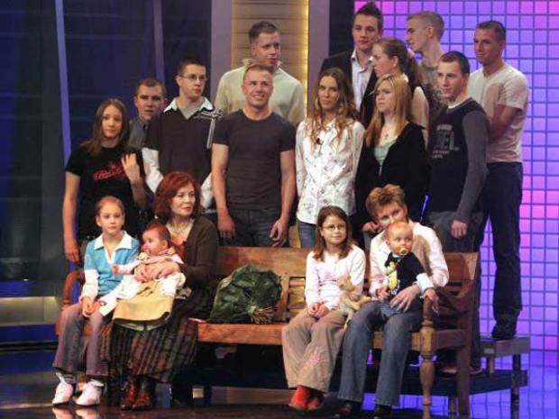 семейство с 13 деца