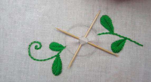 Нестандартное применение зубочисток для оригинальной вышивки. Идеи, советы и мастер класс своими руками