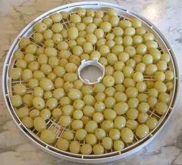Как сделать изюм из винограда в духовке