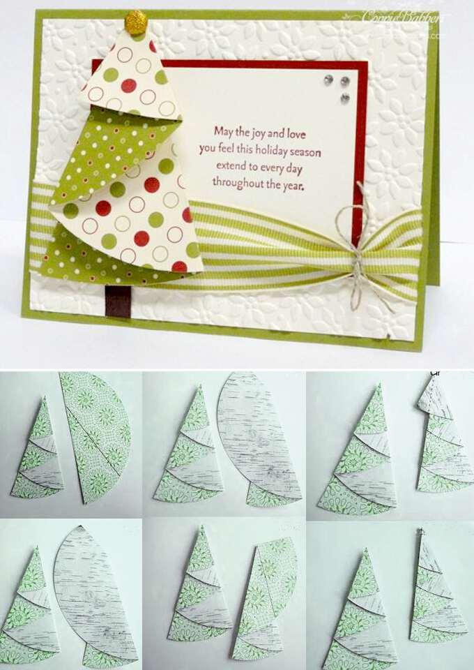 Как сделать открытку на год своими руками