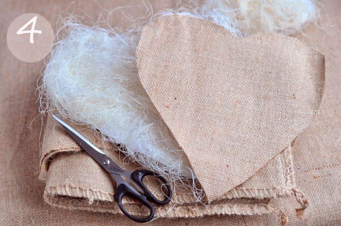 Сердце из ракушек мастер класс