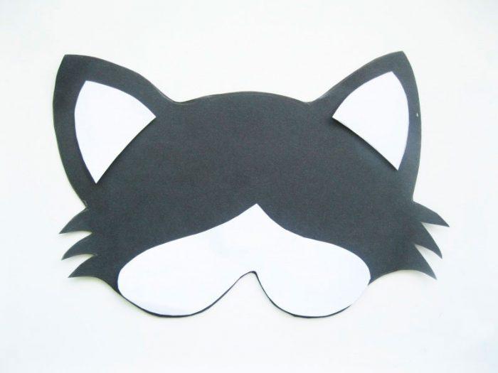 "Masque de papier ""CAT"" CLASSE MASTER"