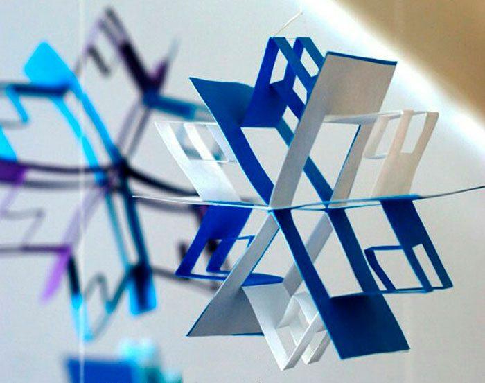 برف ریزه هندسی