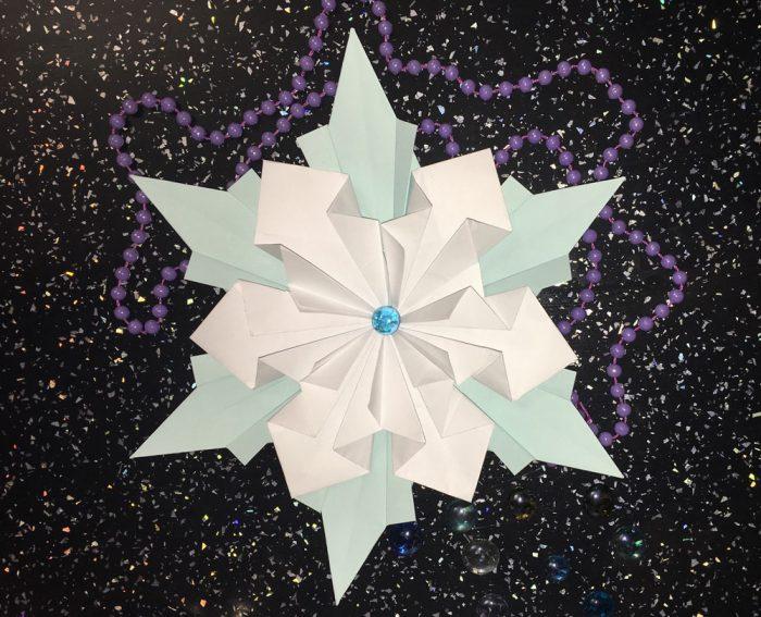 Snowflake volumetrik yang tidak biasa