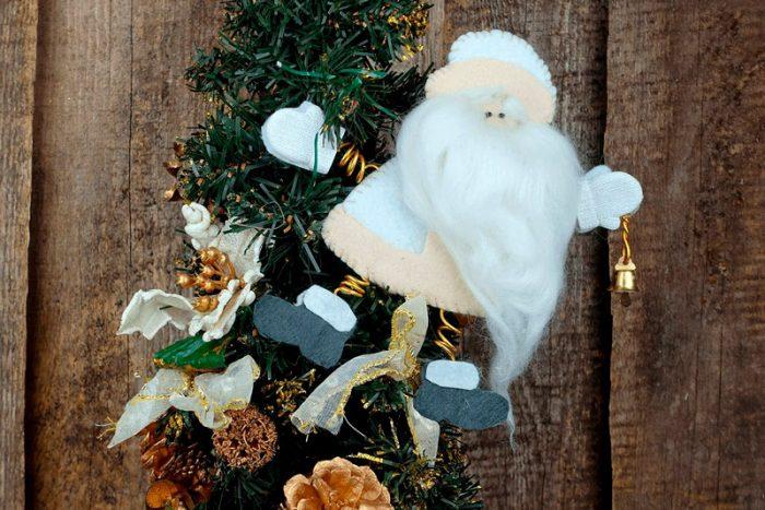 Santa Claus de feutre