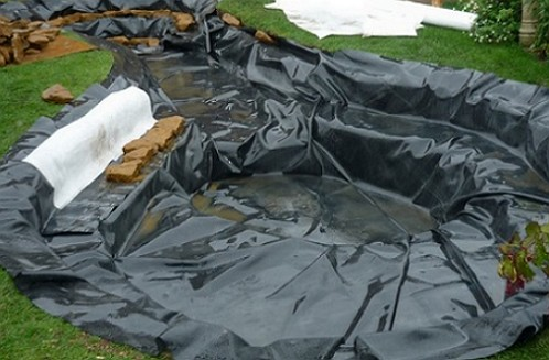 Pond without waterproofing do it yourself  Waterproofing of