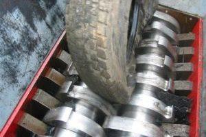 Изготовление крошки из старых шин
