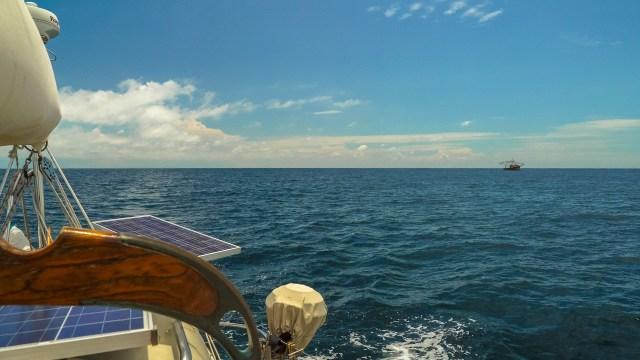 Motoring in the Gulf of Panama