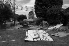 By mid-June 2012, the last families left Riverdale Mobile Home Park.