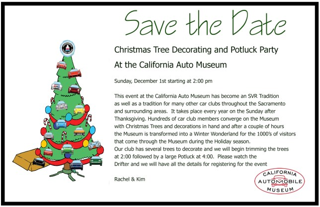 CAM Christmas Tree Decorating & Potluck