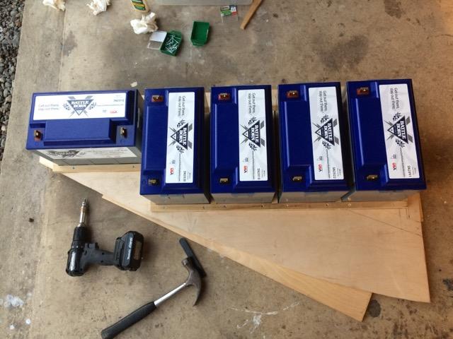 LiFePO4 Batteries - SV Ramble On