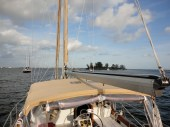 Anchored off the ICW
