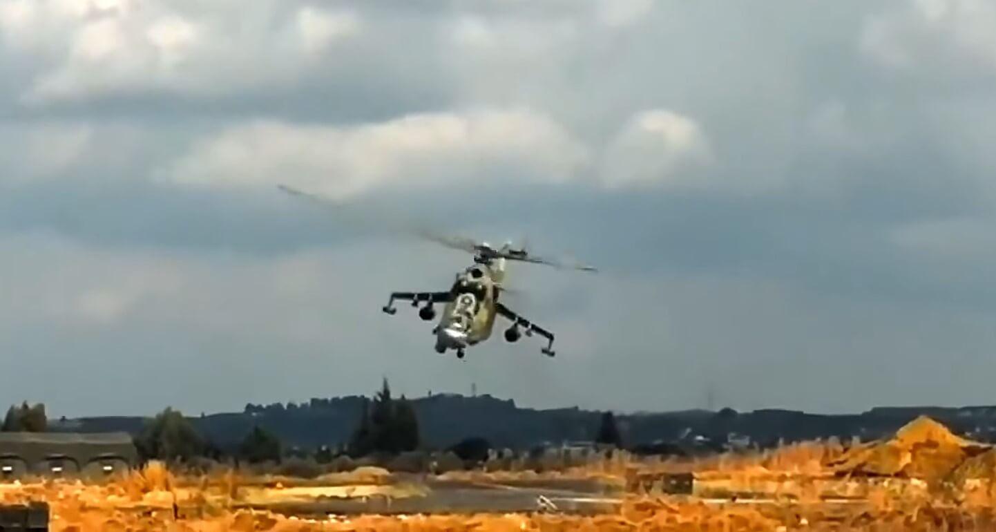 В Армении сбили российский вертолет