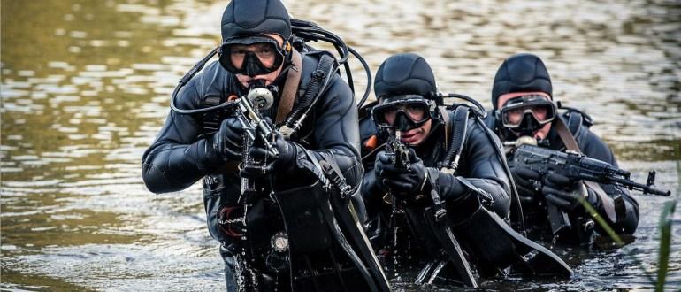 Подразделение ГРУ «Дельфин» - элита спецназа