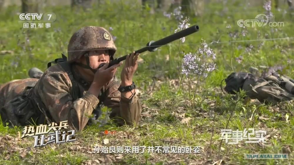 Применение китайским спецназом отравленных стрел