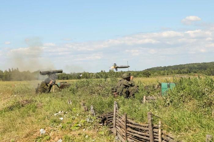На тактическом учении артиллеристы Ульяновского соединения ВДВ учились создавать «огневые мешки»