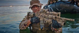 Морской спецназ США впервые принял на службу женщину