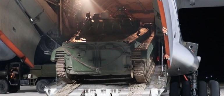 Минобороны России перебрасывает в Таджикистан модернизированные БМП-2