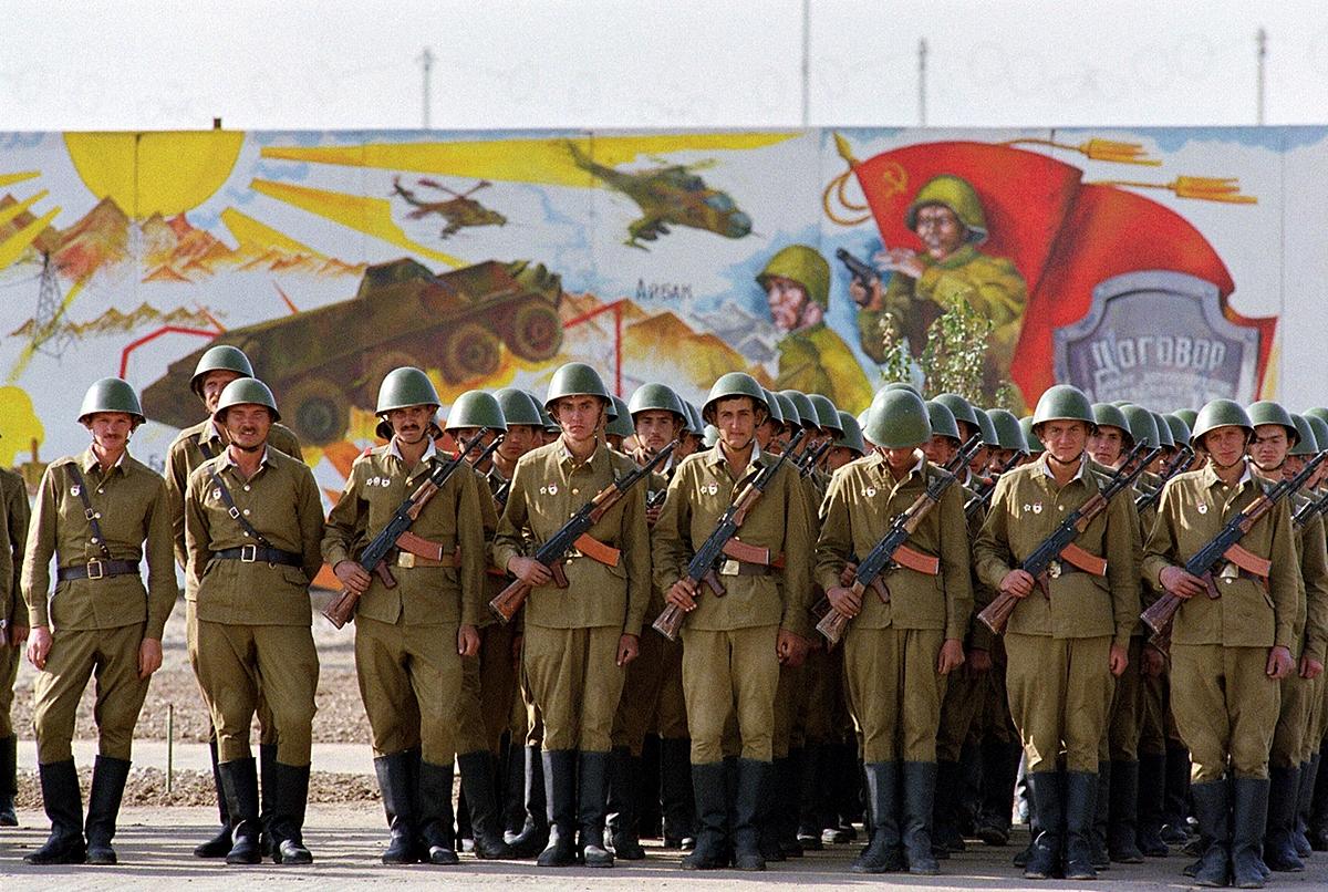 Какую спецподготовку проходили советские солдаты перед отправкой в Афганистан