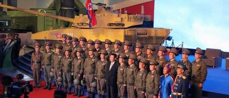 """Новый танк из Северной Кореи не сможет конкурировать с """"Арматой"""""""