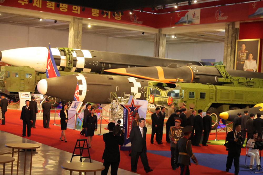 Гиперзвуковой боевой блок новой ракеты впервые показали в КНДР